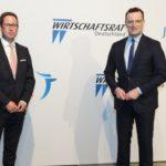 Digitaler Gesundheitsdialog: Mark Steinbach im Austausch mit Jens Spahn